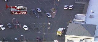Police activity near Carey and Las Vegas Boulevard