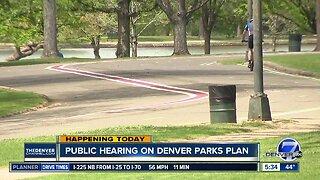 Public hearing on Denver parks plan