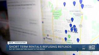 Short term rentals refusing refunds despite coronavirus