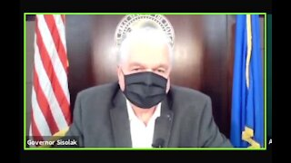 Gov. Sisolak give COVID-19 update and vaccine information