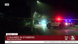 Omaha Police investigate stabbing