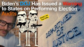 DOJ warns states about election audits
