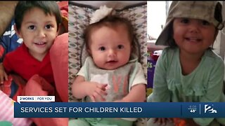 Services set for children killed by their mother