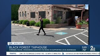 """Black Forest Taphouse says """"We're Open Baltimore""""!"""
