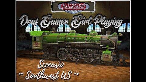 Sid Meier's Railroads! - Southwest US scenario