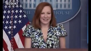 PSAKI: WOW THERE'S A PLANE RIGHT OVER HEAD🤣😂🤣😂