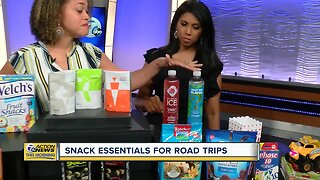 Snack essentials for road trips