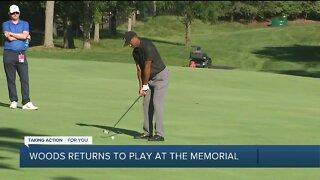 Tiger Woods talks return to PGA Tour at The Memorial