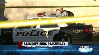 Eastside standoff, suspect in custody