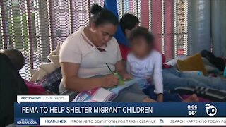 FEMA to help shelter migrant children