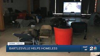 Bartlesville helping the homeless
