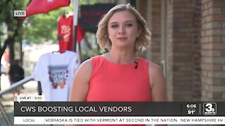 College World Series boosting local vendors