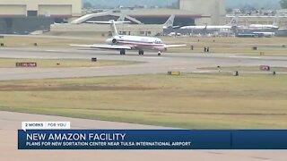 New Amazon sorting facility coming near Tulsa International Airport