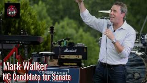 North Carolina Candidate for Senate Mark Walker Speaks at July 4th event.