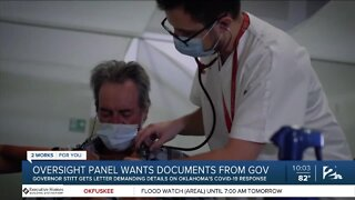 Oversight panel wants documents from Gov. Stitt