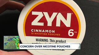 Concern over Nicotine pouches