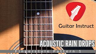 Acoustic Rain Drops (Guitar Lesson) (Epi 07)