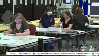Primary election vote counting continues