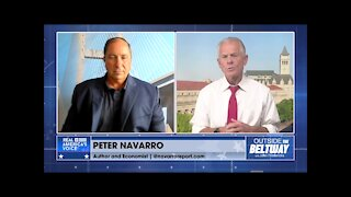 """Peter Navarro Trucking the Truth """"In Trump Time"""""""