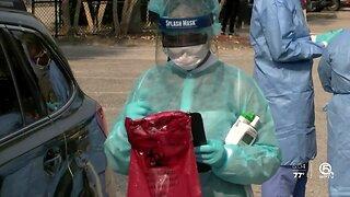 Free coronavirus testing held in Riviera Beach