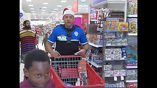 Police spread holiday cheer