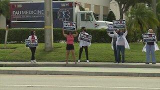 'Doctors for Biden' encourage voting in Boca Raton
