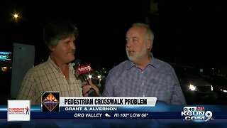 Pedestrian crosswalk problem