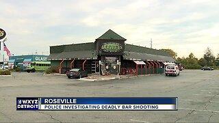 Roseville police investigating fatal shooting at local bar