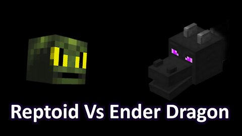 Reptoid Discovers Minecraft - S01 E29 - Island Life - Ep 31 - Reptoid Vs Ender Dragon