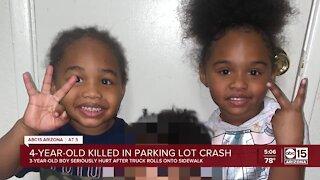 4-year-old killed in parking lot crash in Glendale