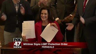 Whitmer bars LGBT discrimination, nixes religious exemption