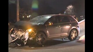 DPD officer involved in crash after running stop sign with no lights & sirens
