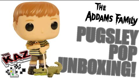 The Addams Family Pugsley Funko Pop Unboxing