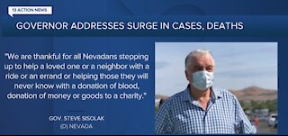 Gov. Sisolak calls Nevada's COVID situation 'dangerous'