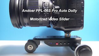 Andoer PPL-06S Auto Dolly Motorized Video Slider