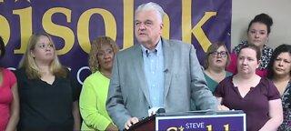 Gov. Sisolak cuts his second check to Nevada schools