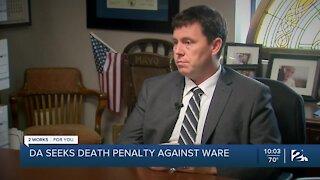Prosecutors seeking death penalty for man accused of killing Tulsa police officer
