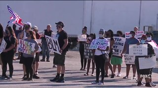 Peaceful protest held in Immokalee