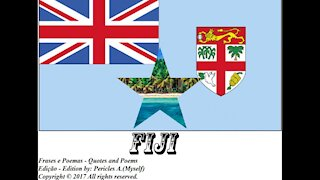 Bandeiras e fotos dos países do mundo: Fiji [Frases e Poemas]