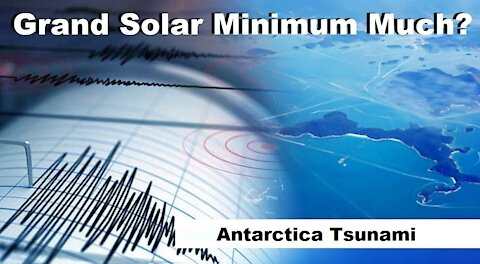 6.9 Quake Triggered By Solar Flare Leads To Minor Tsunami In Antarctica - Snow Emergency Declared