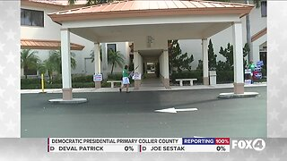 Collier county see lower voter turnout due to coronavirus