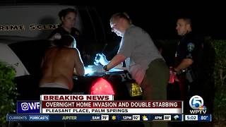 2 stabbed after home invasion in Palm Springs