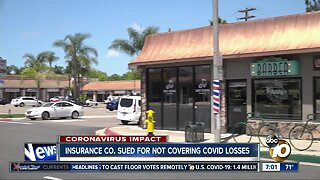 Local barber says insurance company denied claims