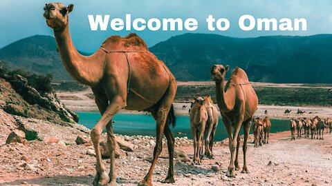 Welcome to Oman It is a country in the Persian Gulf - man & camera