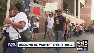 Arizona Attorney General wants to end DACA