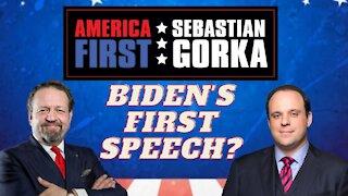 Biden's first speech? Boris Epshteyn with Sebastian Gorka on AMERICA First