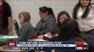 KHSD discusses return to school plans