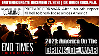 """END TIMES 2021: AMERICA """"Coming Civil/National War""""   DR. BRUCE RUISI"""