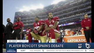 Player boycott sparks debate