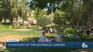Storyfort comes to the Idaho Botanical Garden